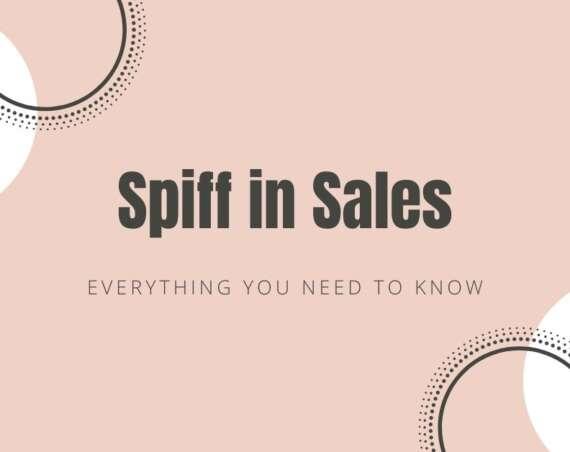 spiff in sales